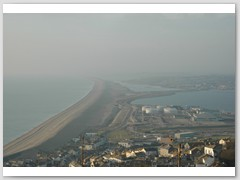 Chesil Bank from Portland